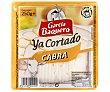 Queso de cabra ya cortado sin gluten cuña 250 g García Baquero