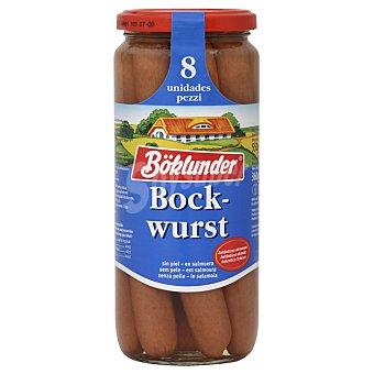 Boklunder Salchichas bockwurst Frasco 360 g neto escurrido