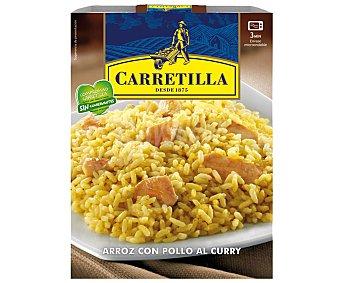 CARRETILLA arroz con pollo al curry envase 300 g