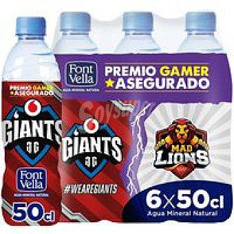 Font Vella Agua mineral e-sports Pack 6 x 50 cl