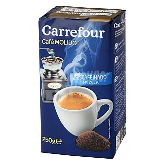 Carrefour Café molido mezcla descafeinado 250 g