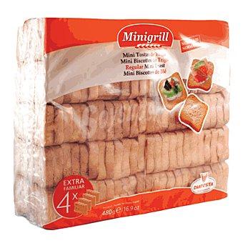 MINIGRILL Minibiscottes de trigo Pack de 4x120 g
