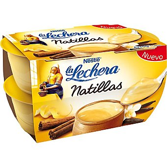 La Lechera Nestlé Natillas Pack 4 unidades 70 g