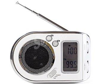 QILIVE Q1406 Radio de bolsillo digital con sintonizador de radio am/fm, altavoz incorporado, color blanco
