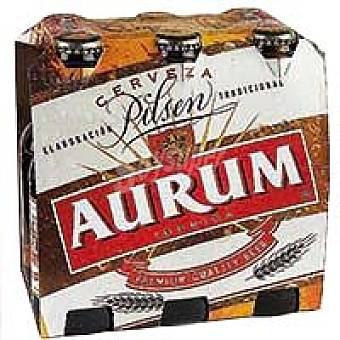 Aurum Cerveza Pack 6x25 cl