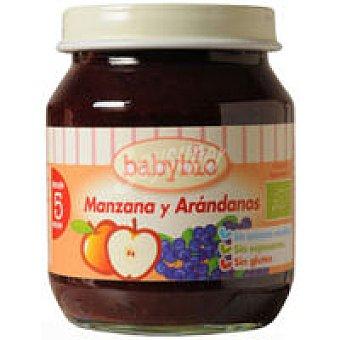 BABYBIO Potito de manzana-arándanos 130 g