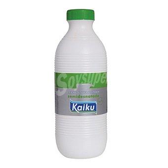 Kaiku Leche Semidesnatada Botella de 1,5 Litros