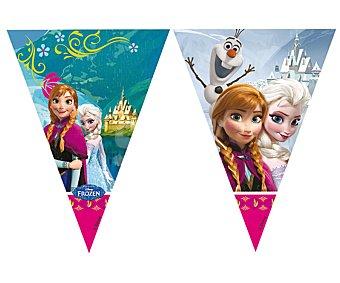 Disney Guirnalda de banderitas de plástico con diseño Frozen 1 unidad