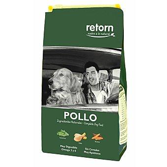 Retorn Adult pienso natural para perros adultos con pollo, guisantes y boniato sin cereales 6 kg