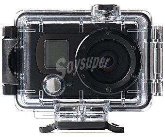QILIVE SPORT HD Videocámara deportiva 5 Megapixeles, resistente al agua