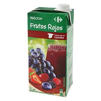 Carrefour Néctar de frutos rojos Brik 1 l