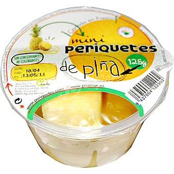PERIQUETE Piña lista para tomar (contiene tenedor) Tarrina 125 g