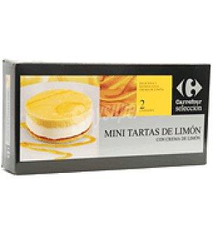 Carrefour Minitarta Limón Pack de 2x220 g