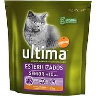 Ultima Affinity Gato esterilizado senior Paquete 800 g