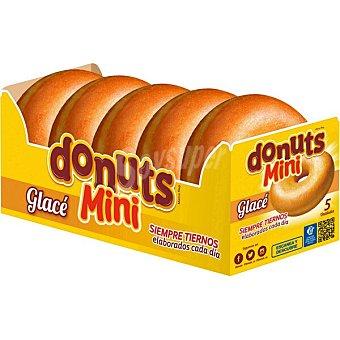 Donuts mini glaseado paquete 110 g 5 unidades