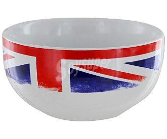 GSMD Bol o tazón de cerámica, 500 mililitros, decorado con la bandera británica 1 Unidad