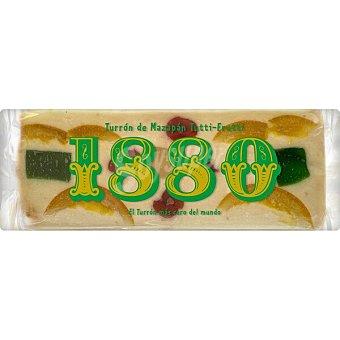1880 Turrón de mazapán Tutti-Fruti Envase 400 g