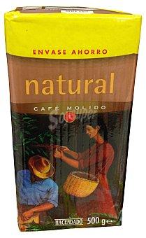 Hacendado Cafe molido natural Nº 1 Paquete 500 g