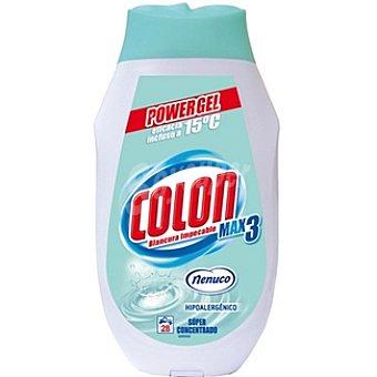 COLÓN Power Gel Detergente concentrado nenuco Botella 28 dosis