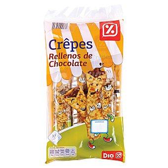 DIA Crepes rellenos de chocolate Bolsa 192 gr