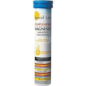 SPECIAL LINE Magnesio Sabor limón 20 comprimidos efervescentes envase 90 g 20 comprimidos