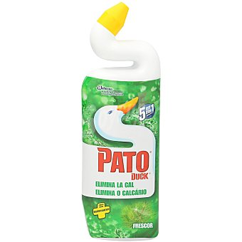 Pato Limpiador gel wc verde Botella 750 ml
