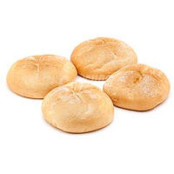 Pan de hamburguesa 4 unid