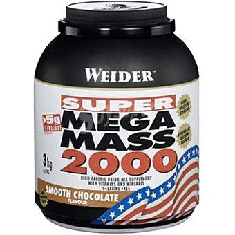 WEIDER Mega Mass 2000 Hidratos de carbono sabor chocolate Bote 3 kg