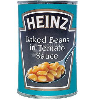 Heinz Alubias con Salsa de Tomate Lata 415 gr