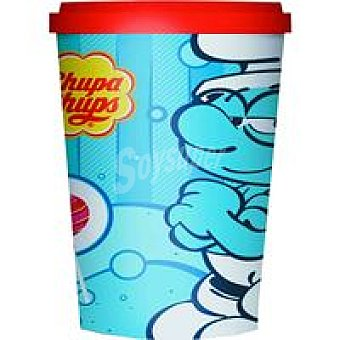 Chupa Chups Vasos Smurfs de Navidad Bolsa 120 g