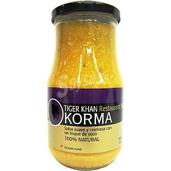 Tiger Khan Salsa Korma - Curry con Coco 425 g