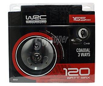 WRC Lote de 2 Altavoces 3 vías 1 Unidad