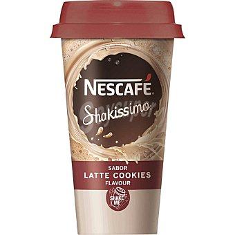 Nescafé Shakissimo Café con leche sabor a galletas de chocolate Envase 190 ml