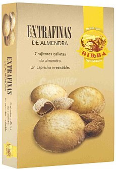 Birba Extrafinas de almendra Caja 125 g