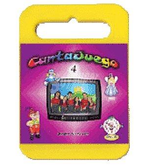 Cantajuegos 4 (G encanto) DVD + CD