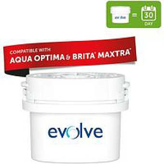 AQUAOPTICA Filtro de agua universal Evolve Pack 1 unid