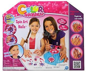 """CIFE Centro de Uñas """"Color Splasherz Spin Nails"""" 1 Unidad"""