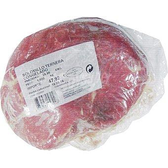 PRADERA Ternera solomillo congelado  1,5 kg (peso aproximado pieza)