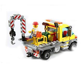 LEGO Juego de construcciones de 233 piezas Camión de Asistencia, modelo 60073, serie City 1 unidad.