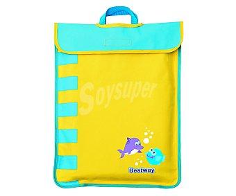Bestway Mini piscina plegable para playa, de fácil transporte gracias a su cómoda bolsa, medidas de 99 x 99 x 20 centímetros y recomendada para niños de hasta 3 años 1 unidad