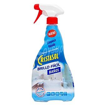 Cristasol Ajax Limpiador de baños brillo fácil 750 ml