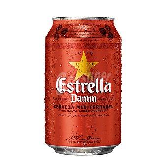 Estrella Damm Cerveza Lata 33 cl