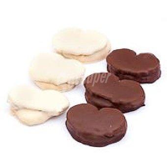 Borja Yon Palmeras de chocolate blanco-negro bandeja 300 g