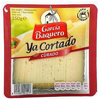 García Baquero Queso curado ya cortado Paquete 250 g