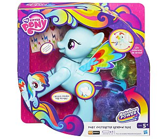 MY LITTLE PONY Pony Rainbow Dash Volteretas 1 Unidad