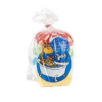 Eroski Esponja infantil colores Paquete 1 unid