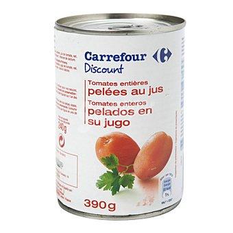 Carrefour Discount Tomate entero pelado 240 gramos