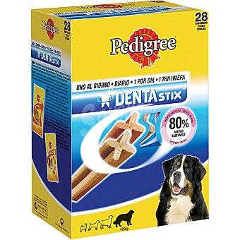 Pedigree Dentastix Dentastix snacks dental para perros de raza grande Caja 28 uds