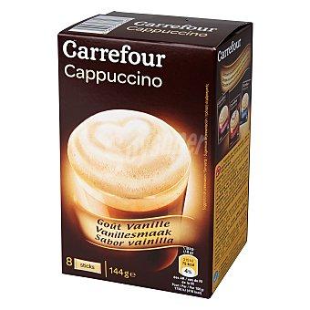 Carrefour Café Cappuccino soluble con vainilla 144 g