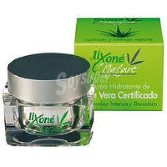 LIXONE Nature Crema hidratante de aloe certifica Tarro 50 ml
